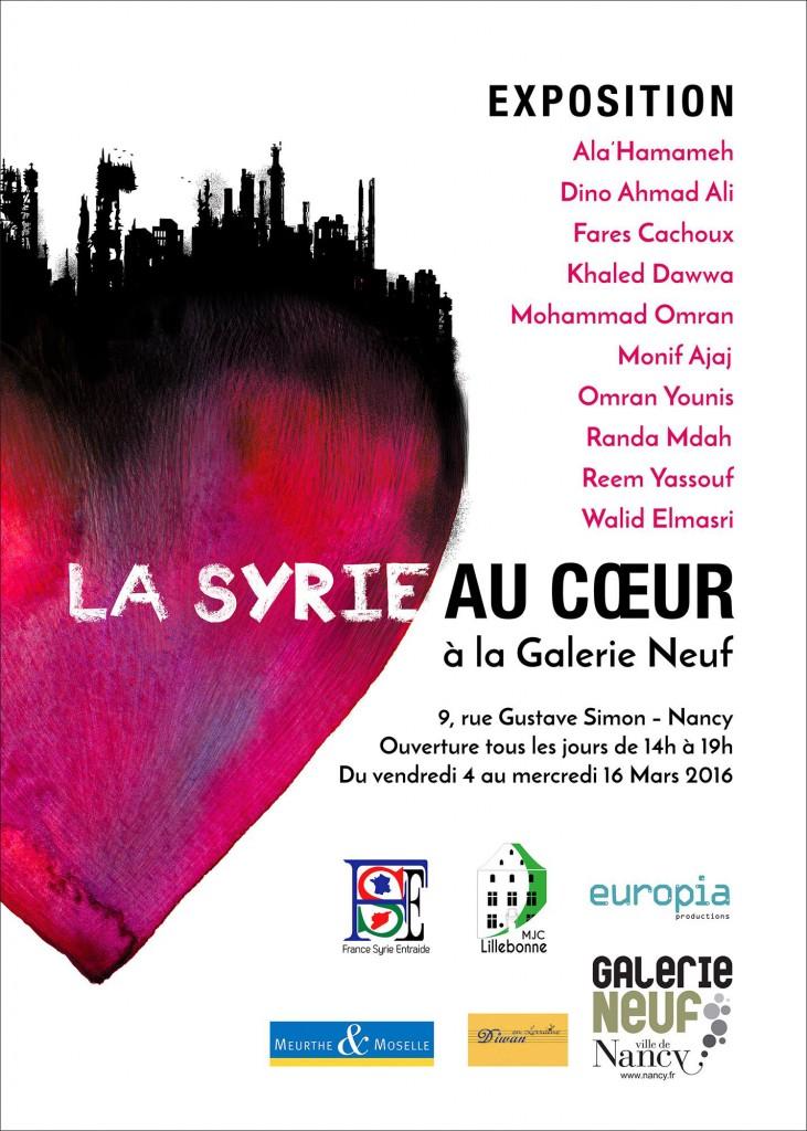 Syrie au coeur